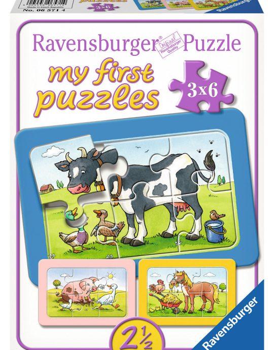 Mijn eerste puzzel Goede Vrienden 3x6 stukjes