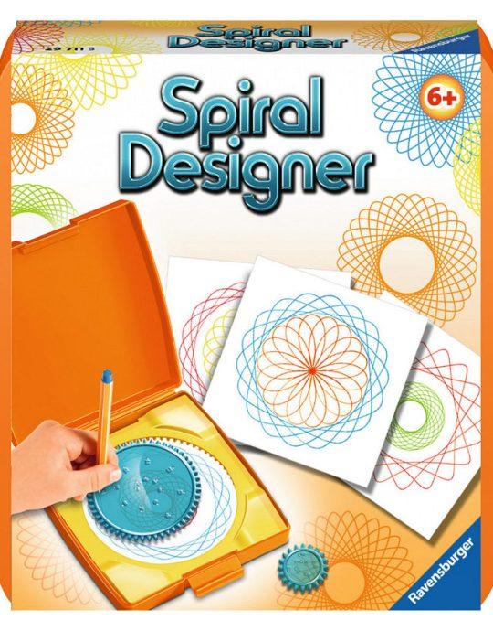 Mini spiral-designer oranje