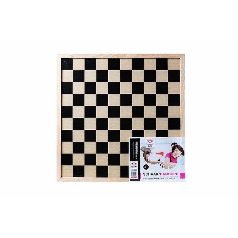 Longfield schaak/dambord 40 cm