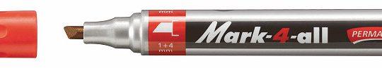 Stabilo Mark-4-All 651 marker beitel rood 10 st.