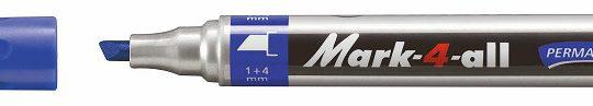 Stabilo Mark-4-All 651 marker beitel blauw 10 st.