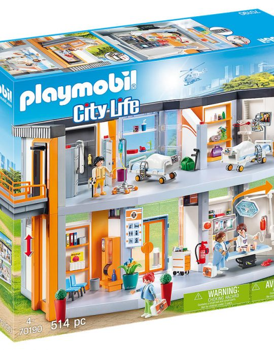 Playmobil City Life Groot ziekenhuis met inrichting