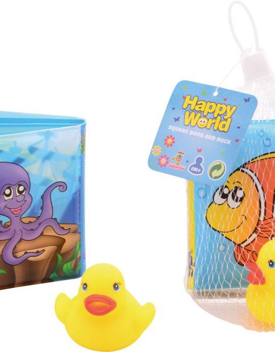 Happy World piepboekje met eend
