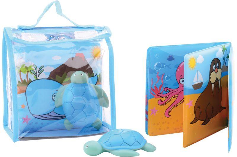 Happy World badboekje met badspeeltje in tasje