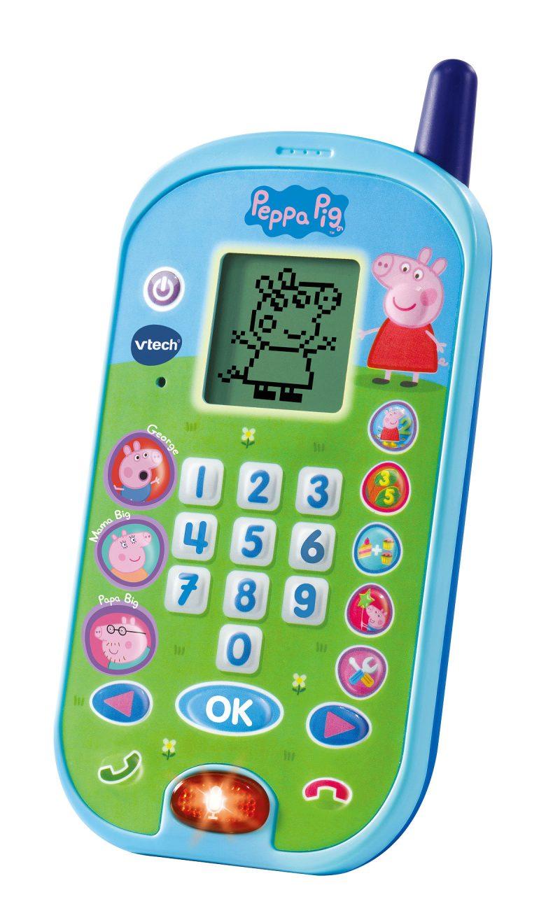 Vtech Peppa Pig Leertelefoon