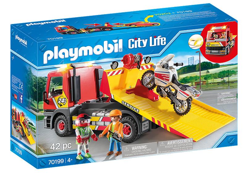 Playmobil City Life Sleepwagen met motor