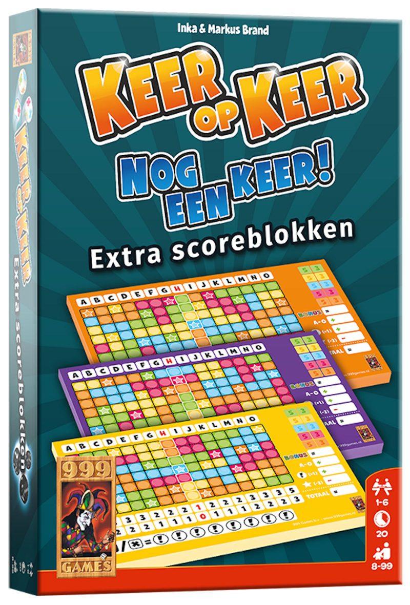 Keer op Keer Scoreblok 3 stuks Level 2, 3 en 4